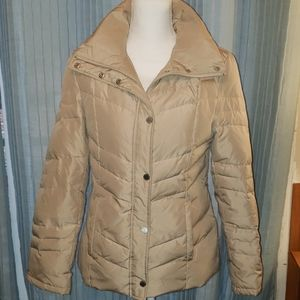 Kenneth Cole Down Quilted Puffer Coat Small T